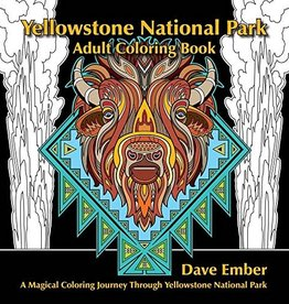 Yellowstone Adult Coloring Book