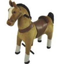 Giddy up N Go large light brown horse