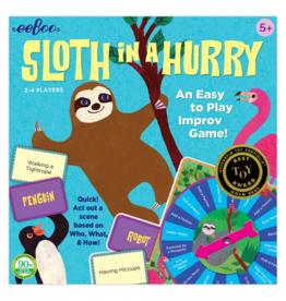 eeboo Sloth in a Hurry Improv Game (Eeboo)