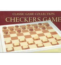Wood Checkers Game