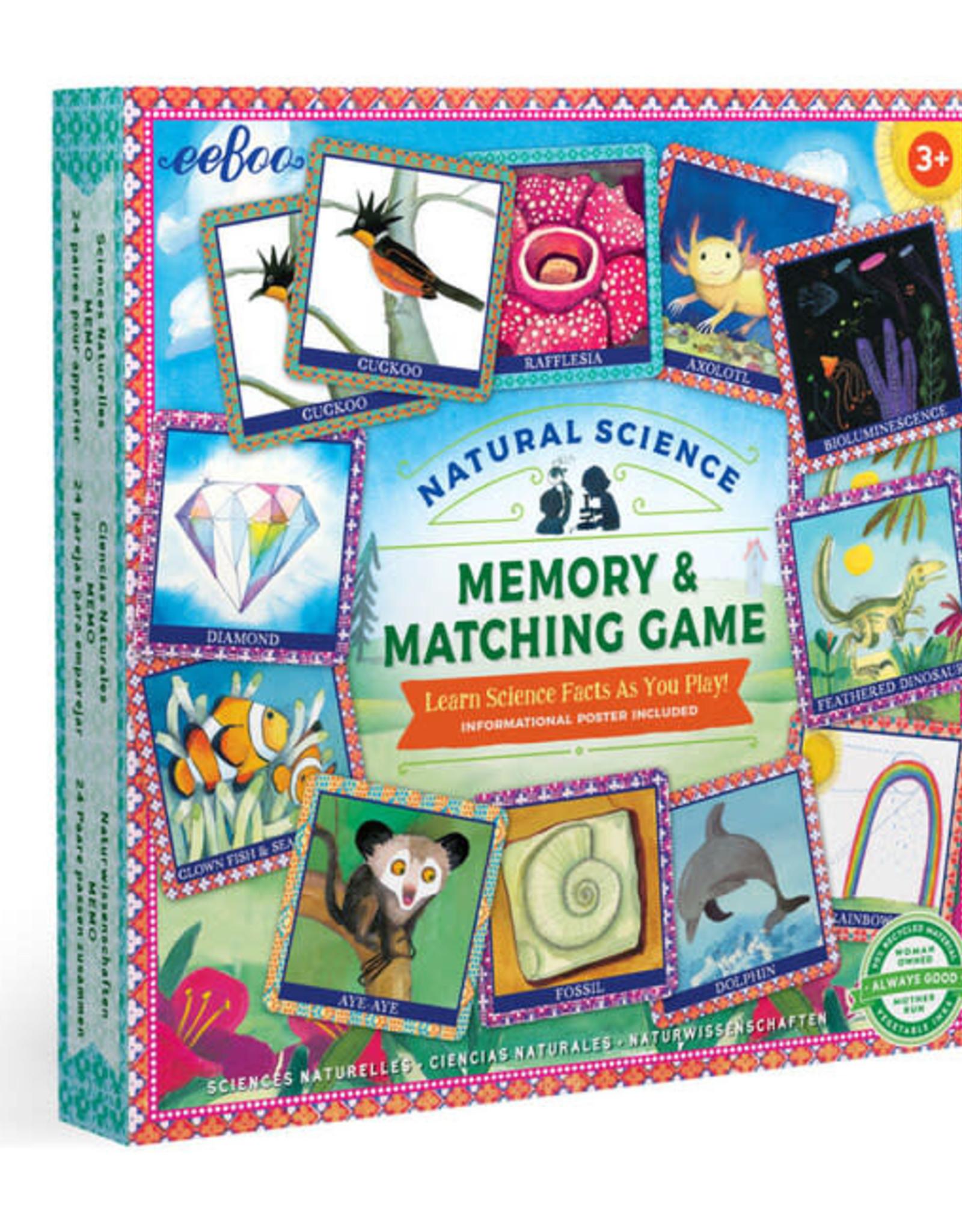 Memory & Matching Game Natural Science