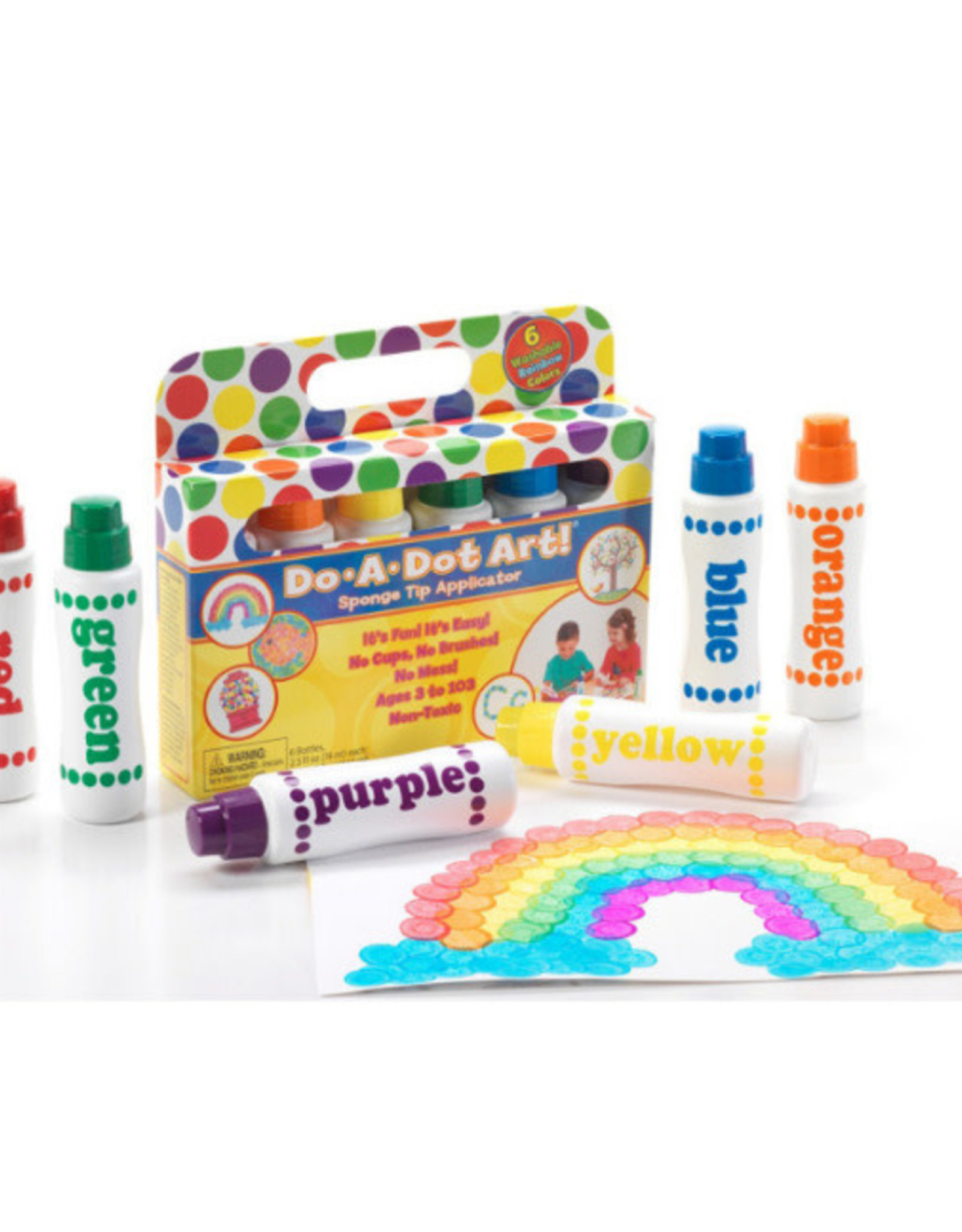 Do-A-Dot 6-pack Rainbow Markers