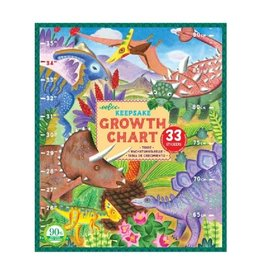Grow Like a Dinosaur Growth Chart - Eeboo