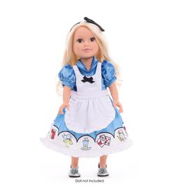 Doll Dress Alice with Headband