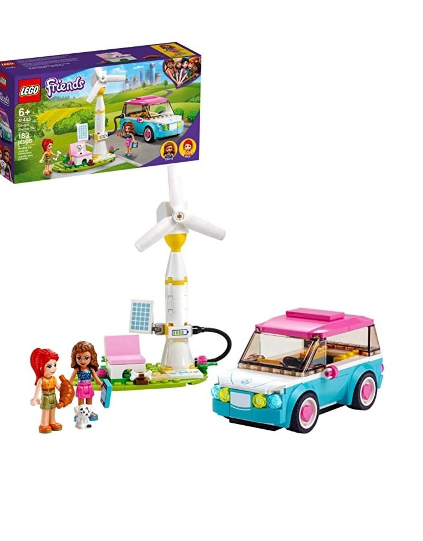 Friends Olivia's Electric Car