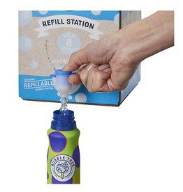Refillable Bubble System - 1 liter, 2 bottles