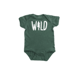 Made of Mountains Wild Onsie 6-12 M
