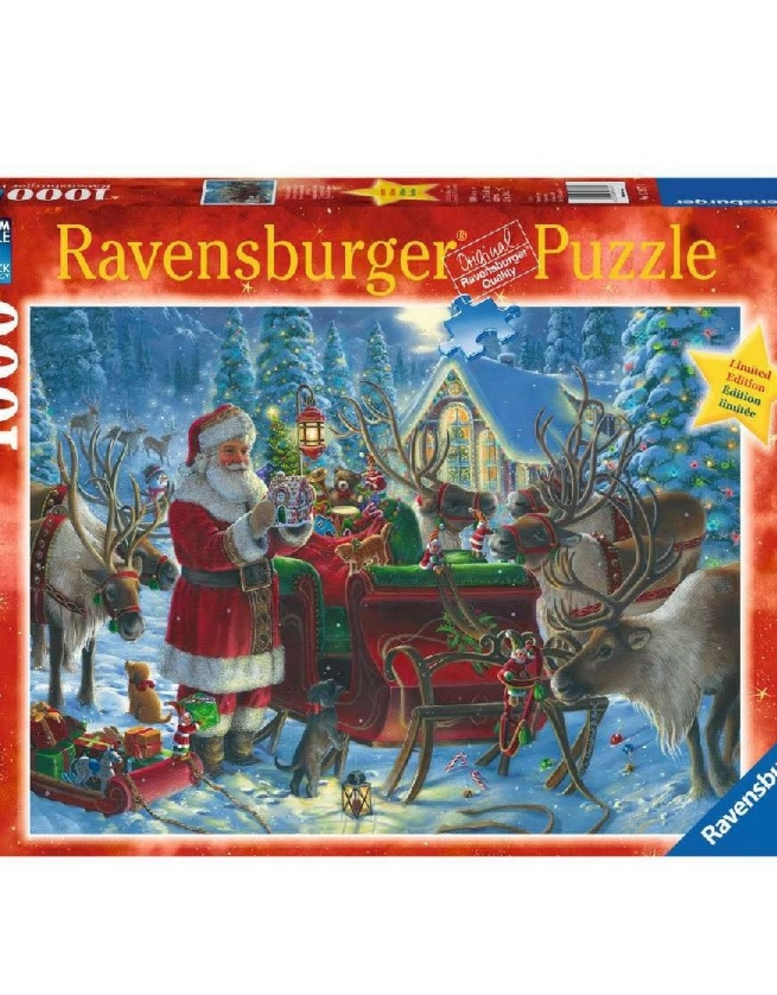 Packing the Sleigh (1000 pc Puzzle)