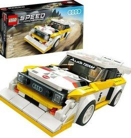 Speed: 1985 Audi Sport quattro S1