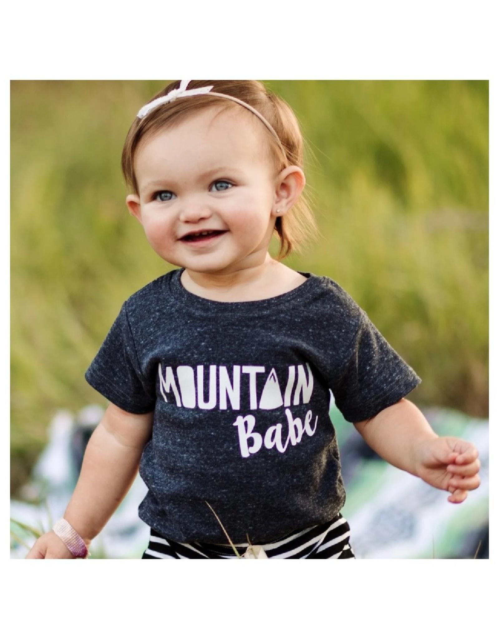 Made of Mountains Mountain Babe Onesie (6M)