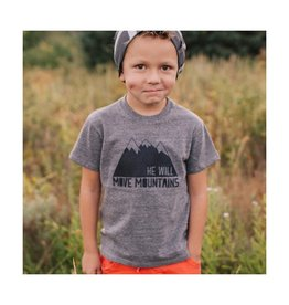 Made of Mountains He Will Move Mountains Onesie (6M)