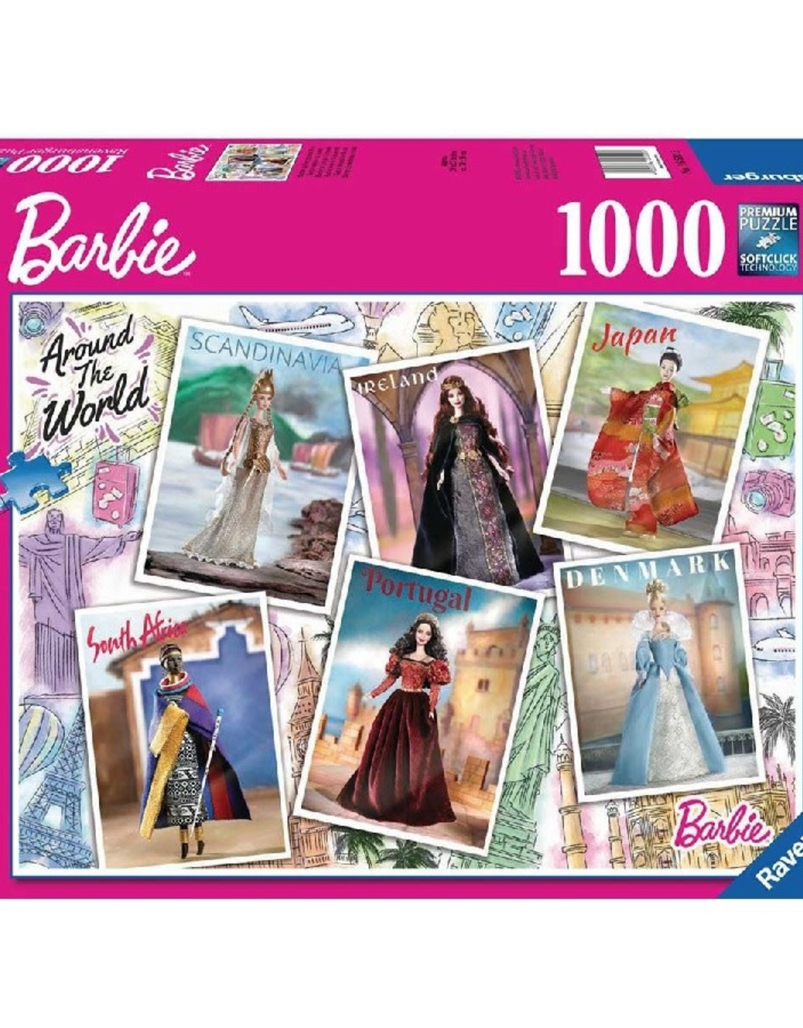 Barbie Around the World  (1000 pc)