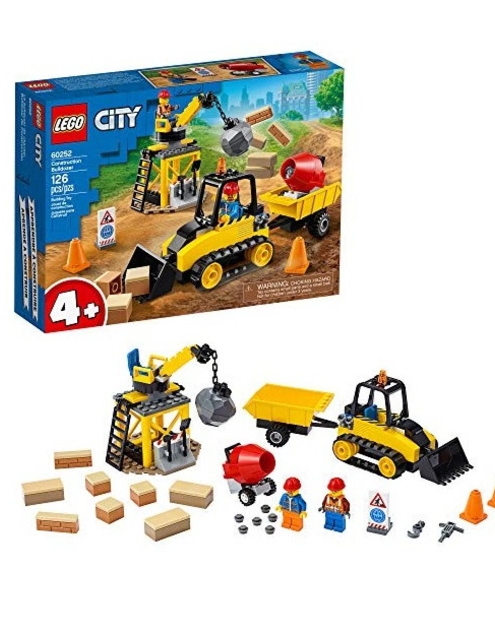 City: Town Construction Bulldozer