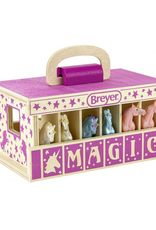 Breyer Wooden Carry Case - Unicorn Magic