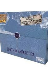 Death in Antarctica Murder Mystery