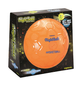 Tangle NightBall Basketball - Orange