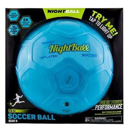 Night Ball Nightball Soccer Ball Blue