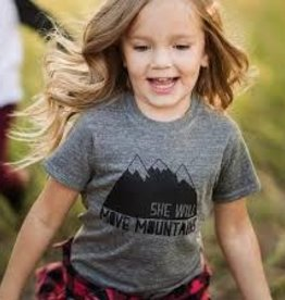 She Will Move Mountains - Tee 5/6T