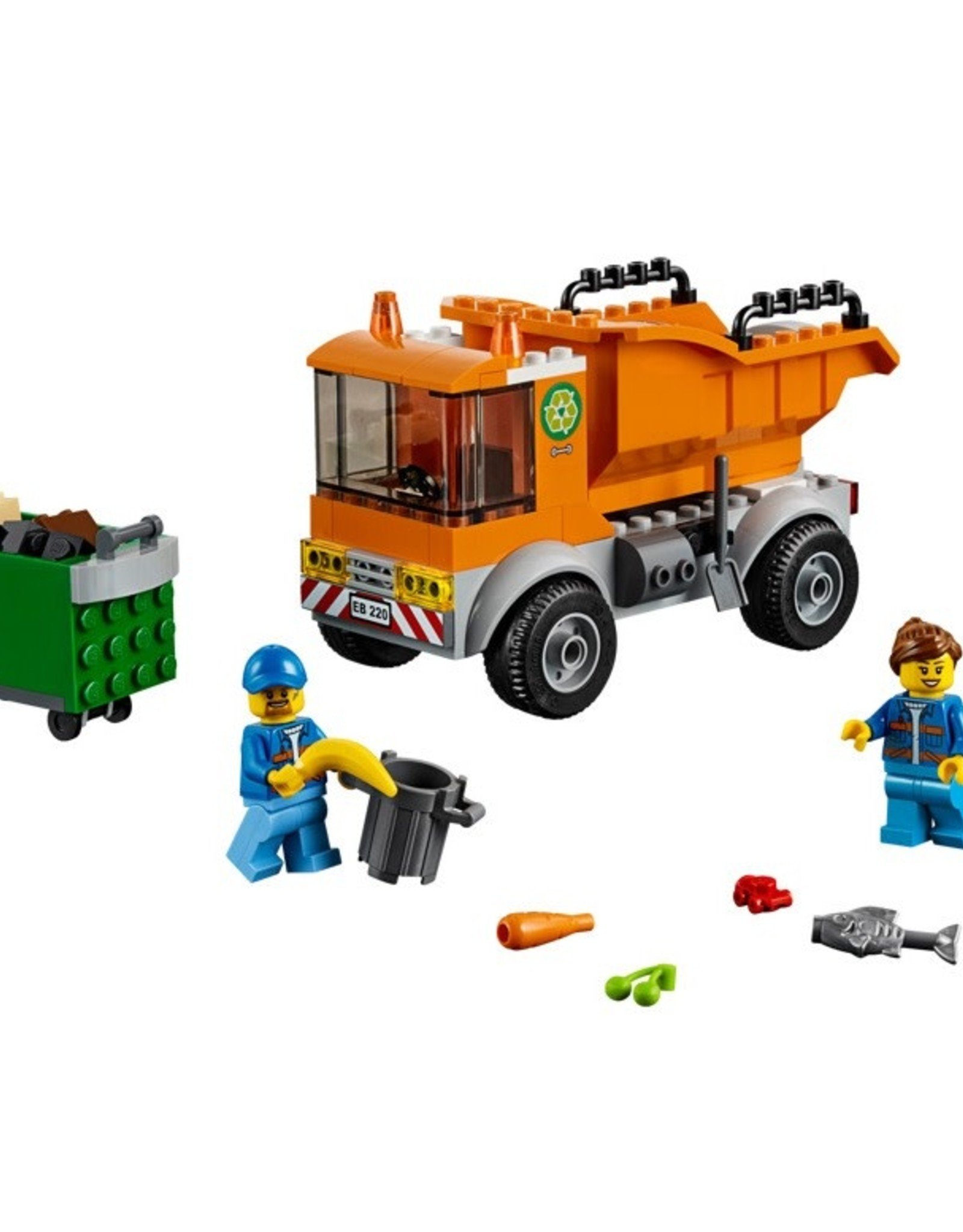 City: Town Garbage Truck