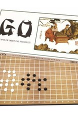 Go - Classic Game with Wooden Board