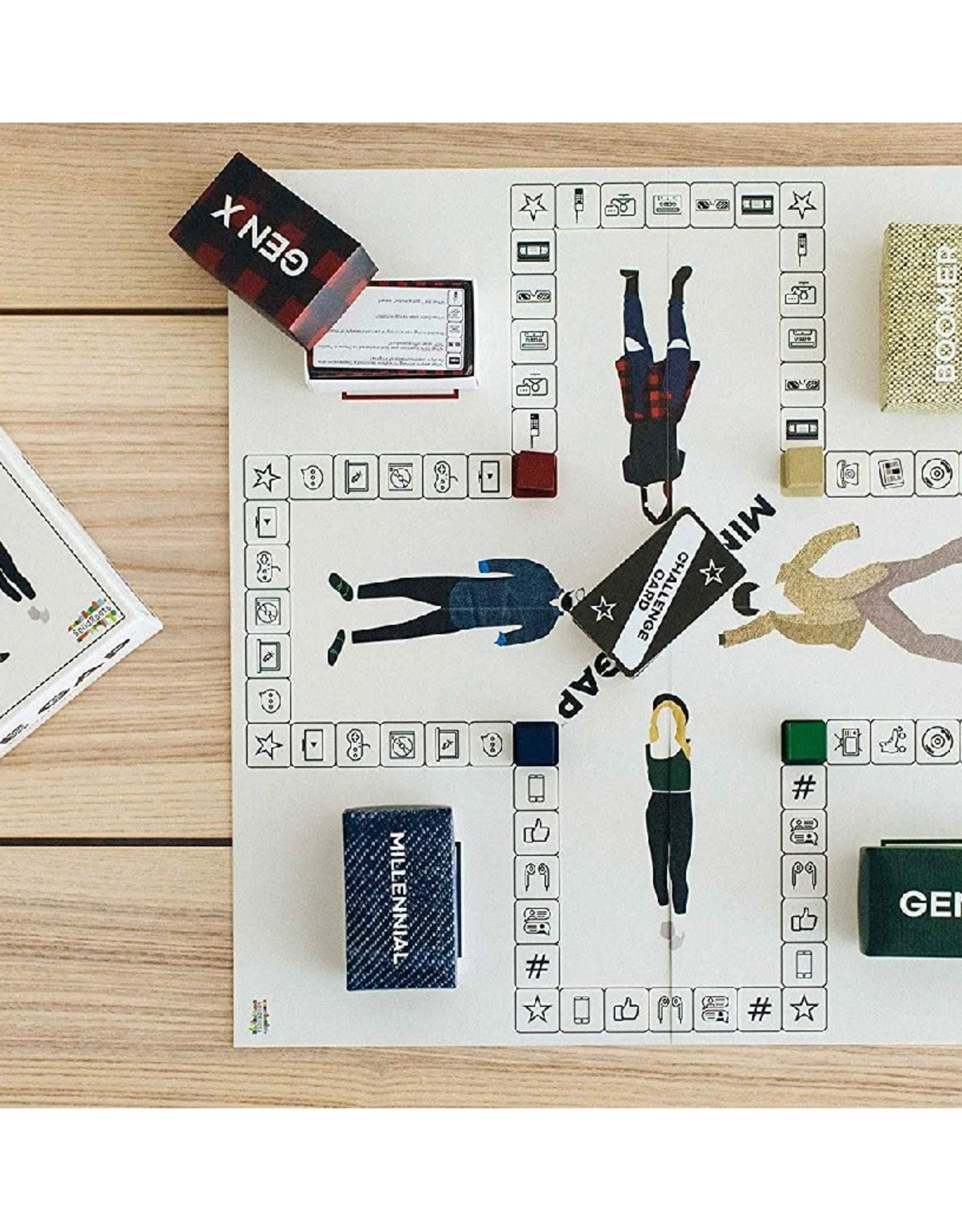 Mind the Gap - The Generational Trivia Game