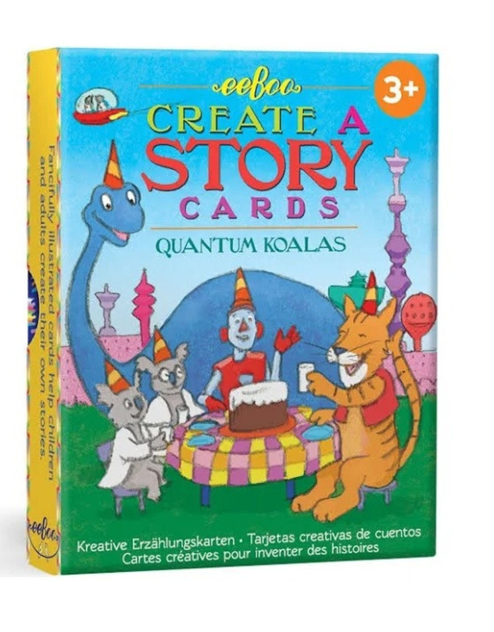 eeboo Create A Story Cards Quantum Koalas