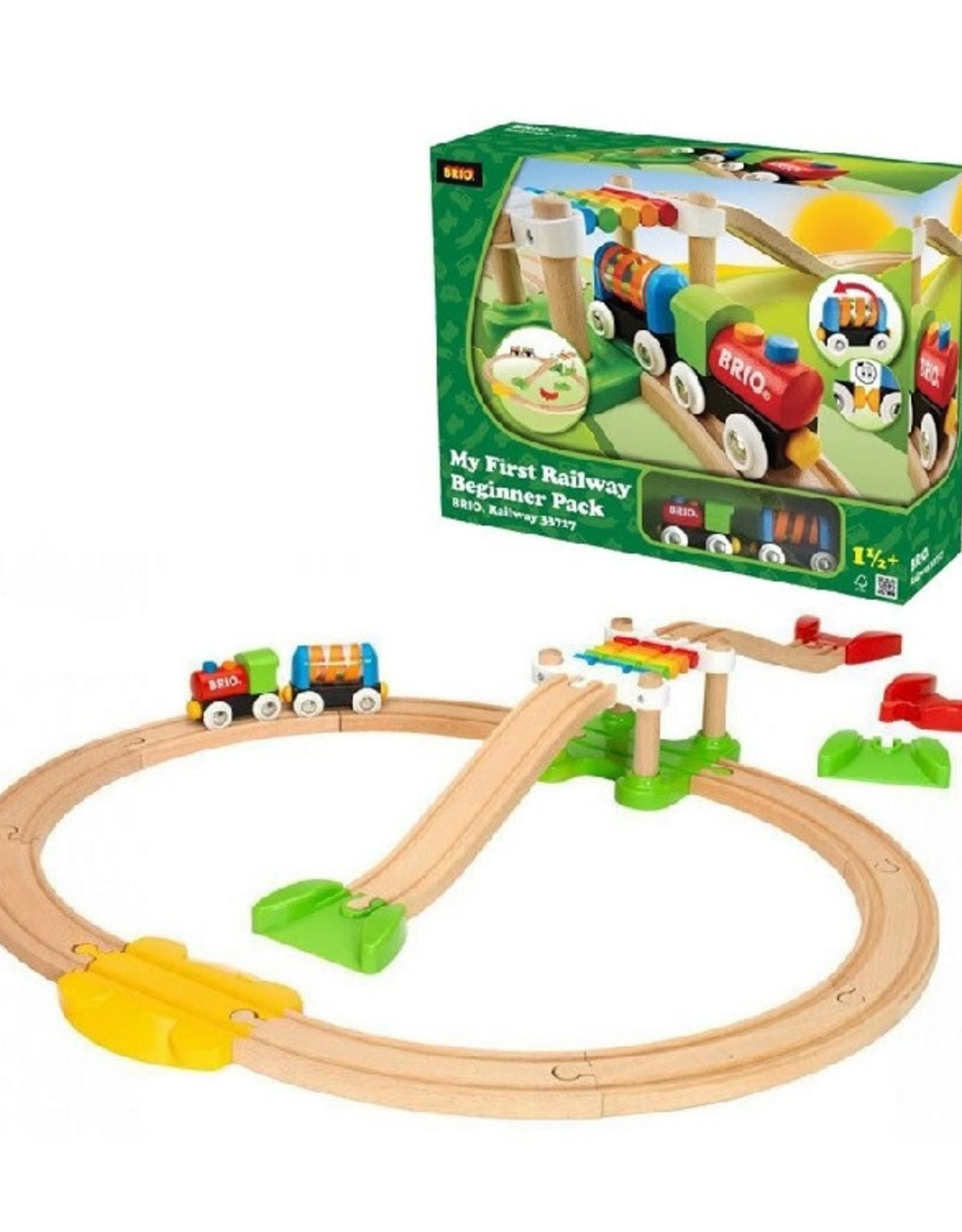 Brio Trains My First Railway Beginner Pack
