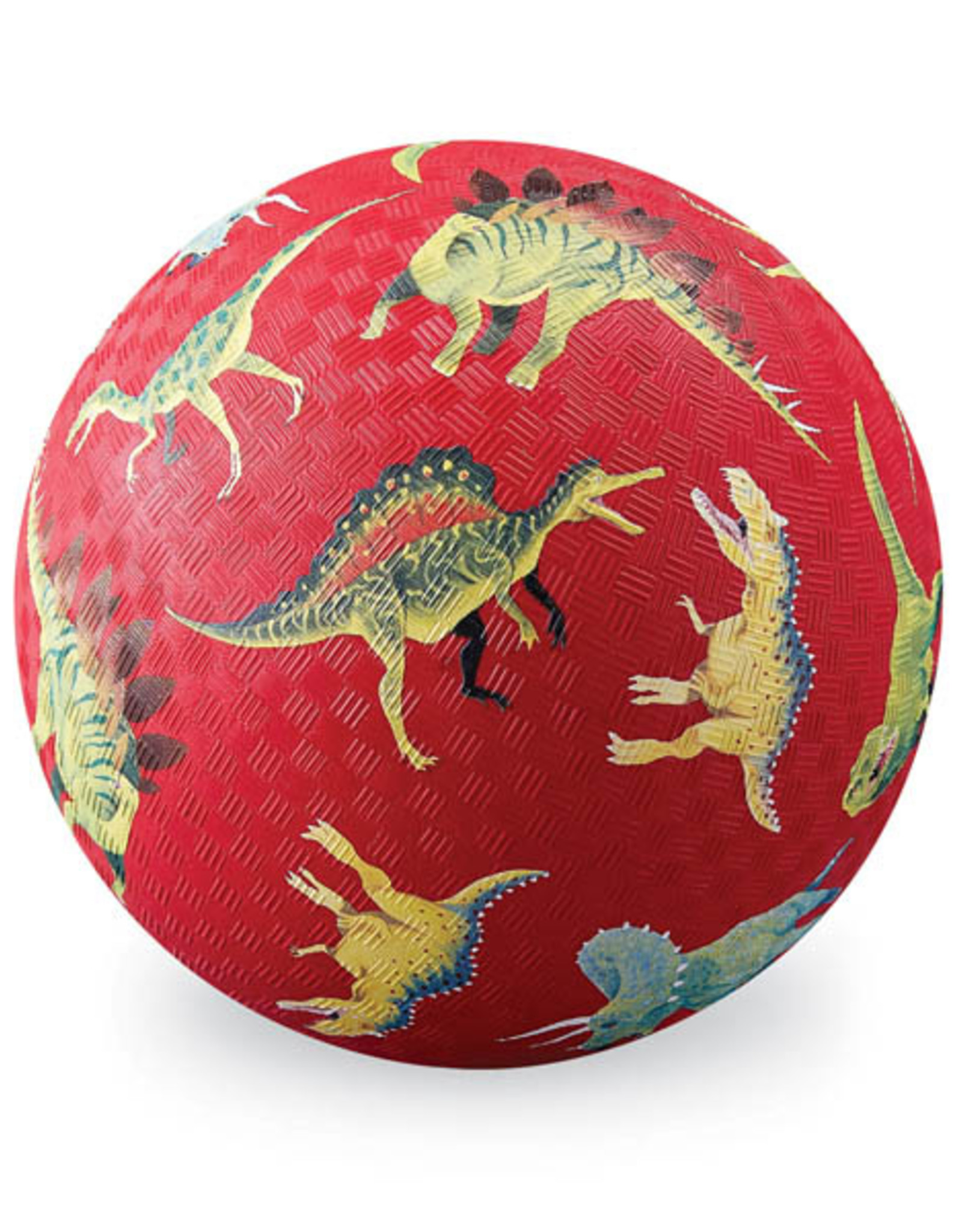 "Crocodile Creek 7"" PlayBall: Dinosaurs Red"