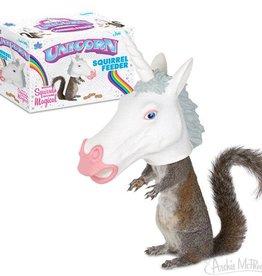 Accoutrements Unicorn Squirrel Feeder