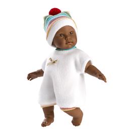 "Llorens Morgan 11"" Soft Body Crying Baby Doll"