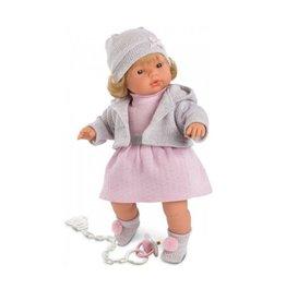 "Llorens Sophia/15"" Soft Body Crying Doll"