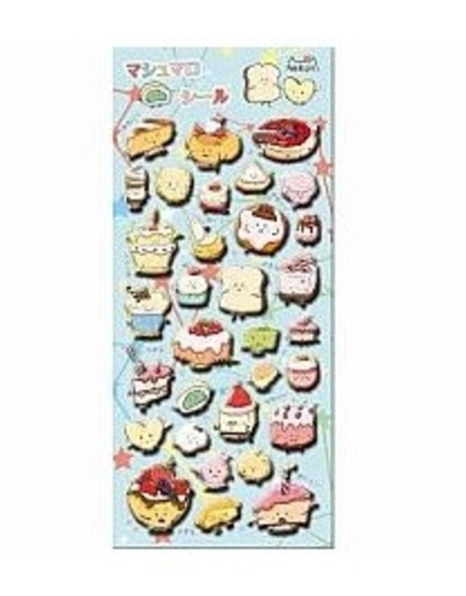 BC Mini Dessert Puffy Sticker