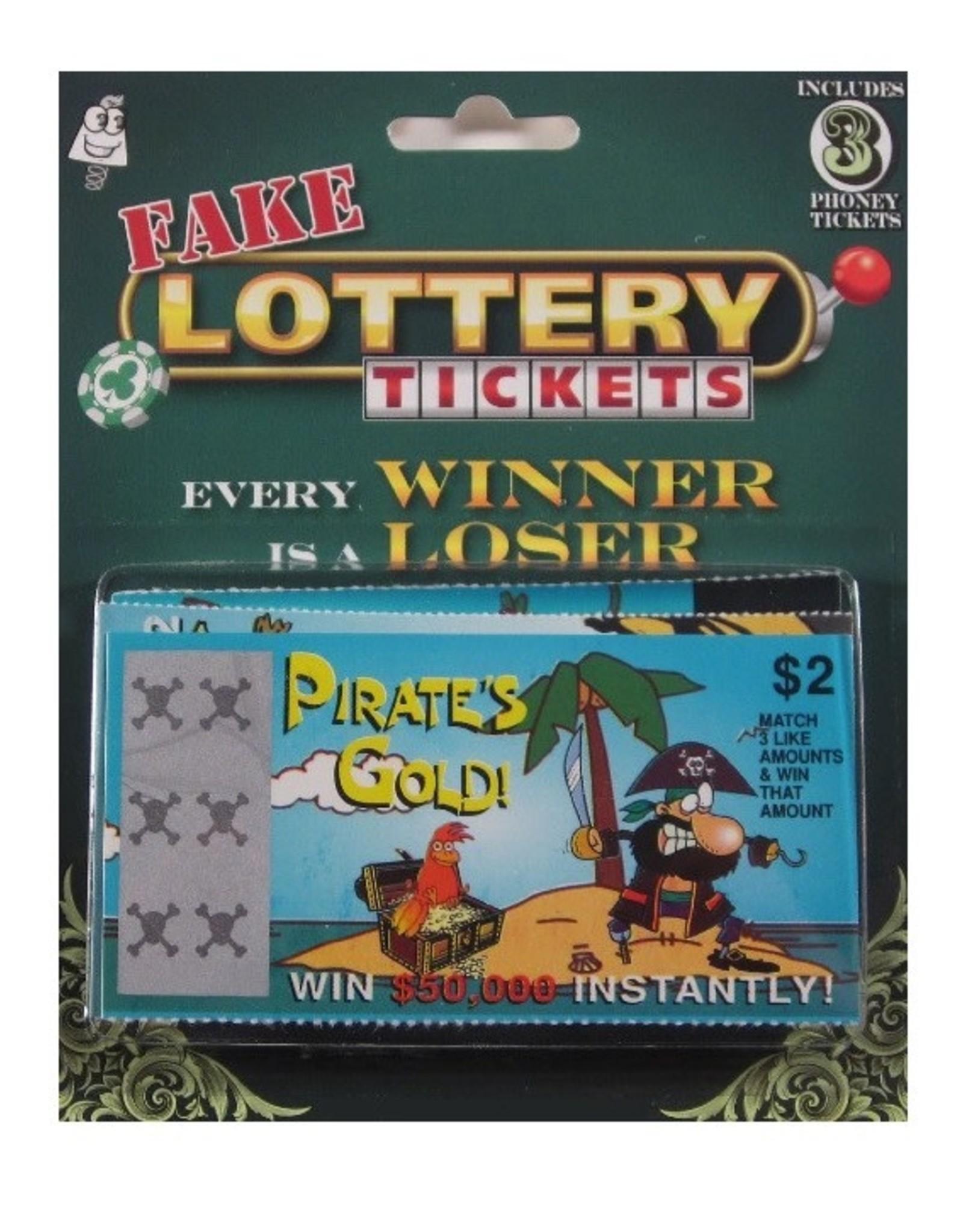 Kalan LP Fake Lottery Tickets