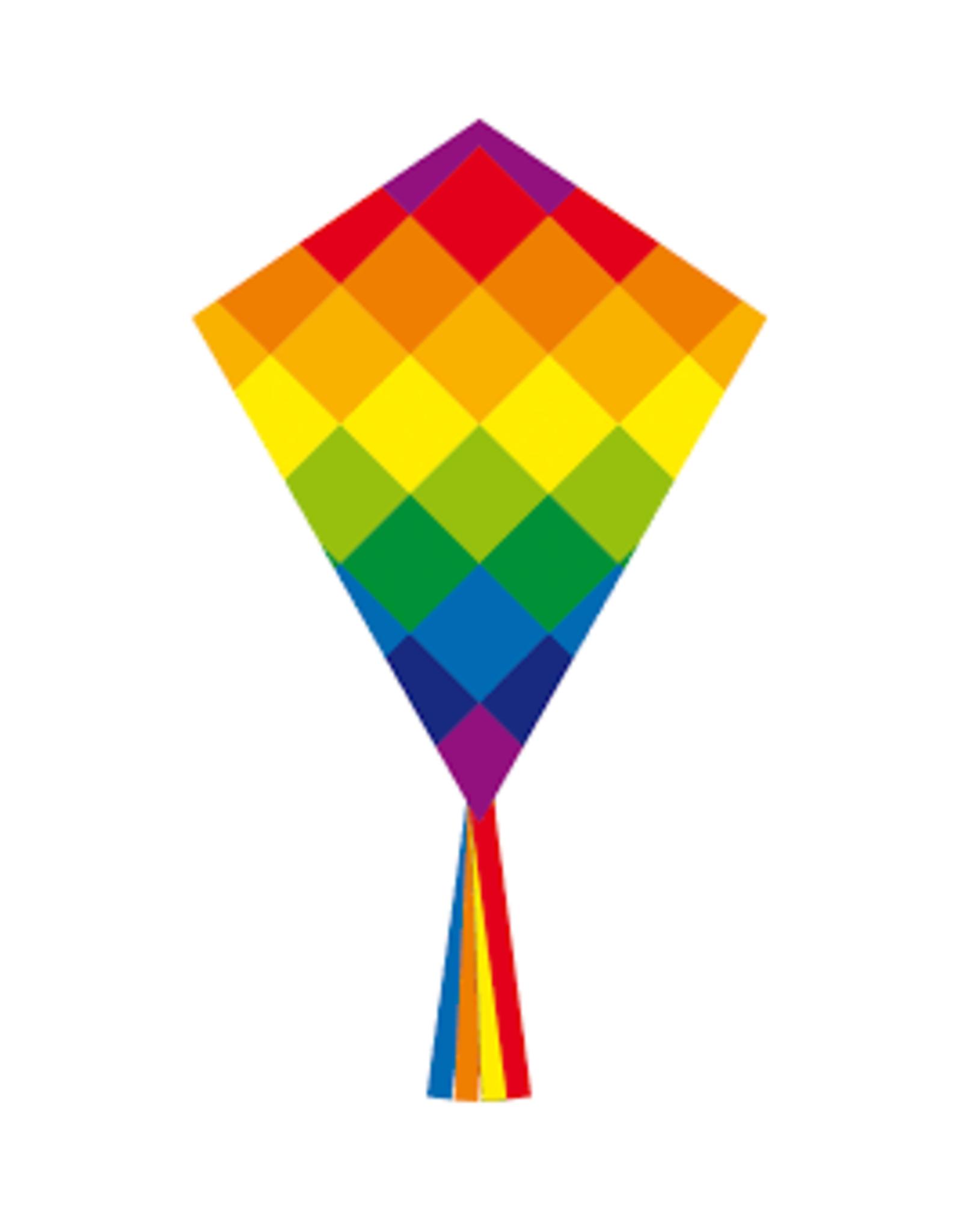HQ Kites Eddy Rainbow Patchwork 70 cm / 28