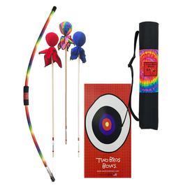 Two Bros Bows Rainbow Bow & Arrows w/Bullseye