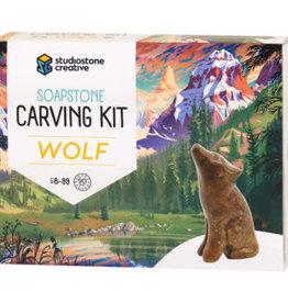 Studiostone Creative Wolf - Soapstone Carving Kit
