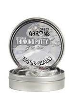 "Crazy Aaron's Liquid Glass Crystal Clear 4"" Tin"