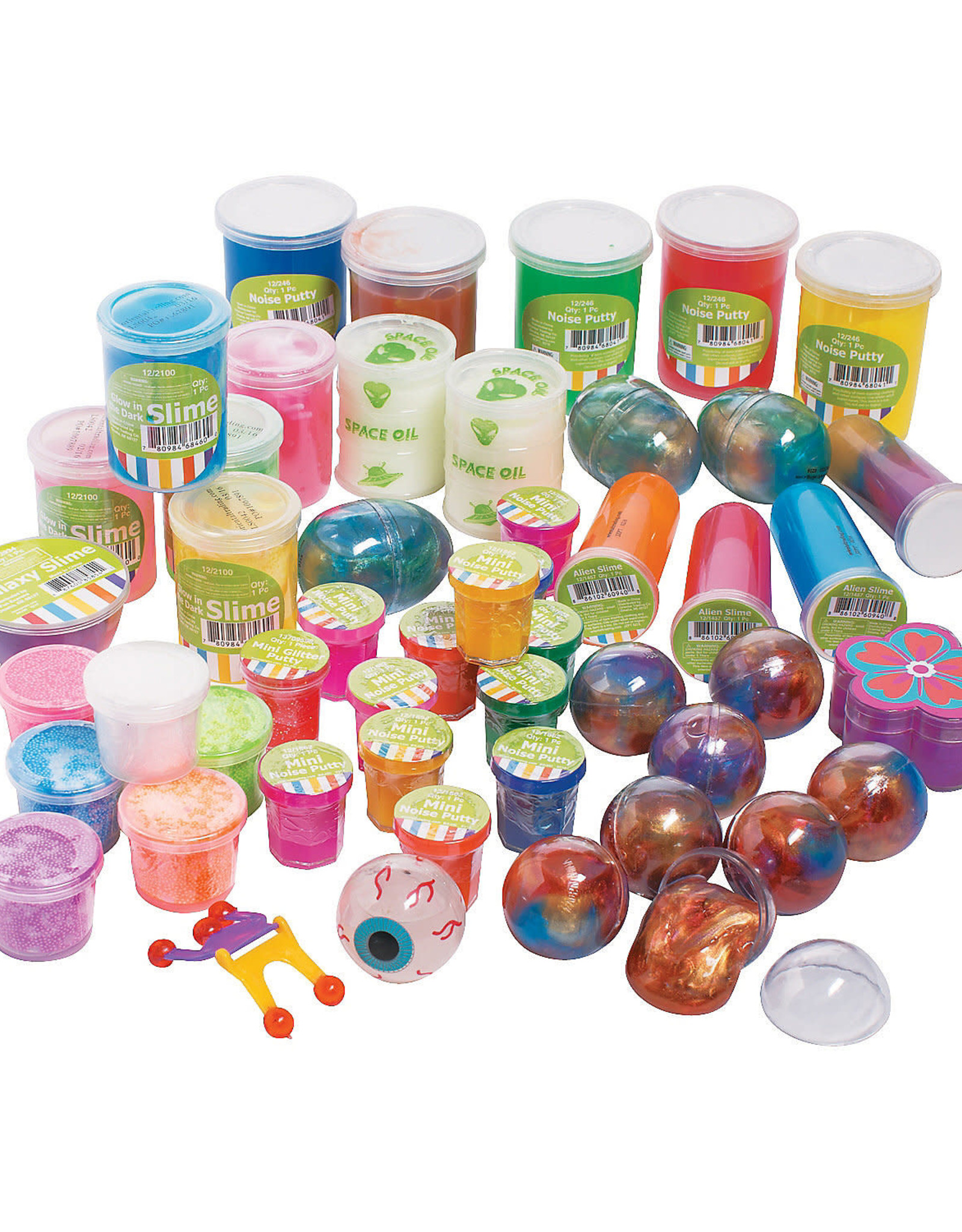 Oriental Trading Company Putty and Slime - Small size  (Assorted)
