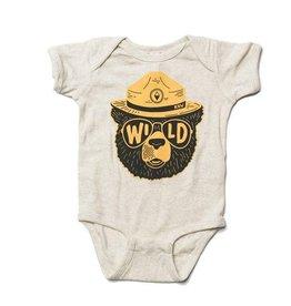 Keep Nature Wild Wild Bear Onesie (6M)