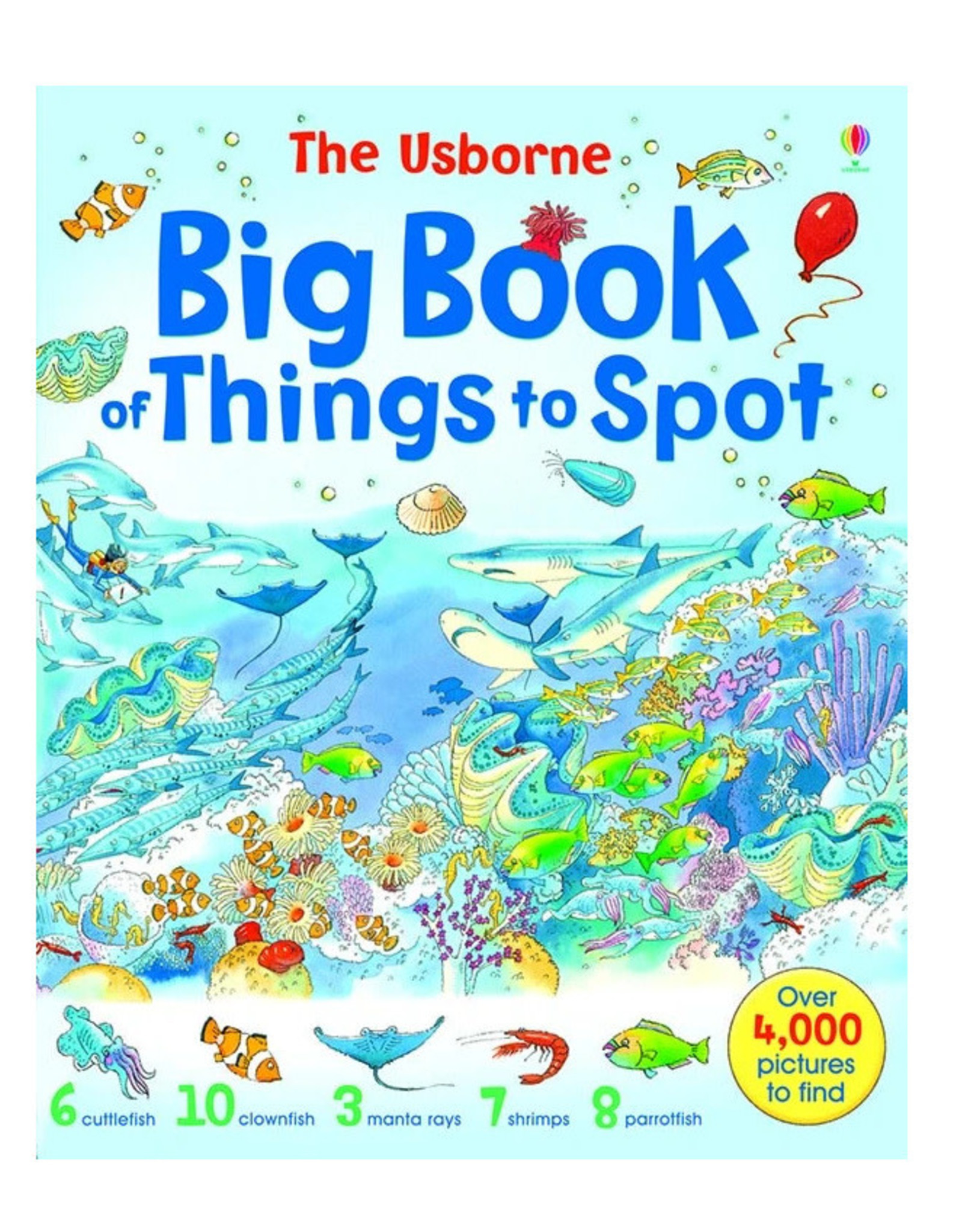 Usborne Big Book of Things to Spot