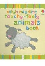 Usborne Touchy-Feely Animals Book - Baby's Very First