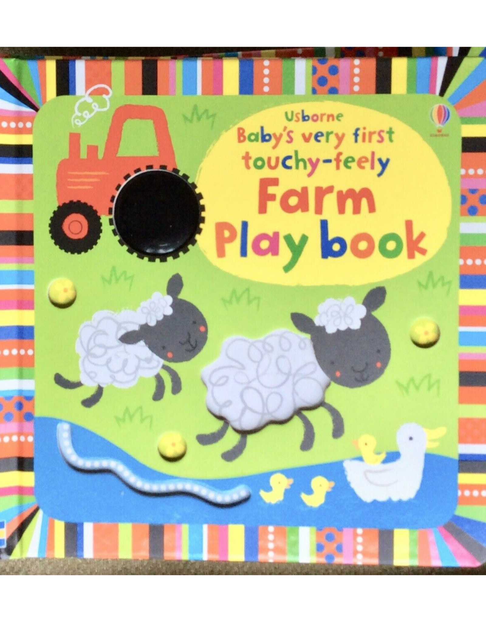 Usborne Touchy-Feely Farm Playbook - Baby's Very First