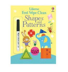 1st Wipe-Clean Shapes &Pattern