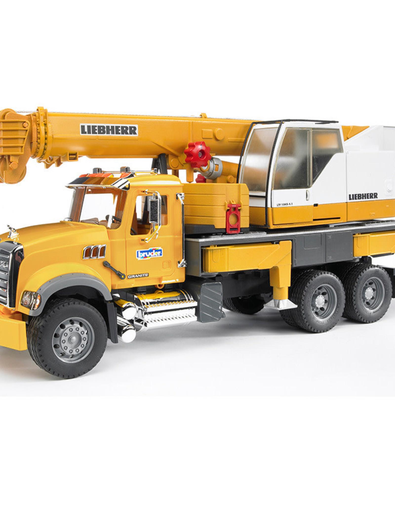 Mack Granite Crane truck