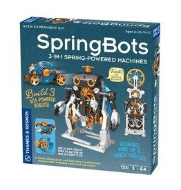 Thames & Kosmos SpringBots: 3-in-1 Spring-Powered Machines