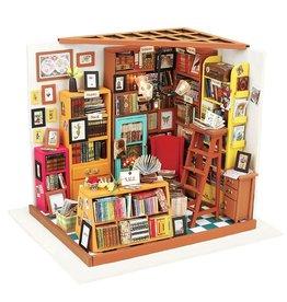 Sam's Study Room - DIY Miniature