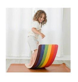 Rainbow Wobble Board - Regular Size