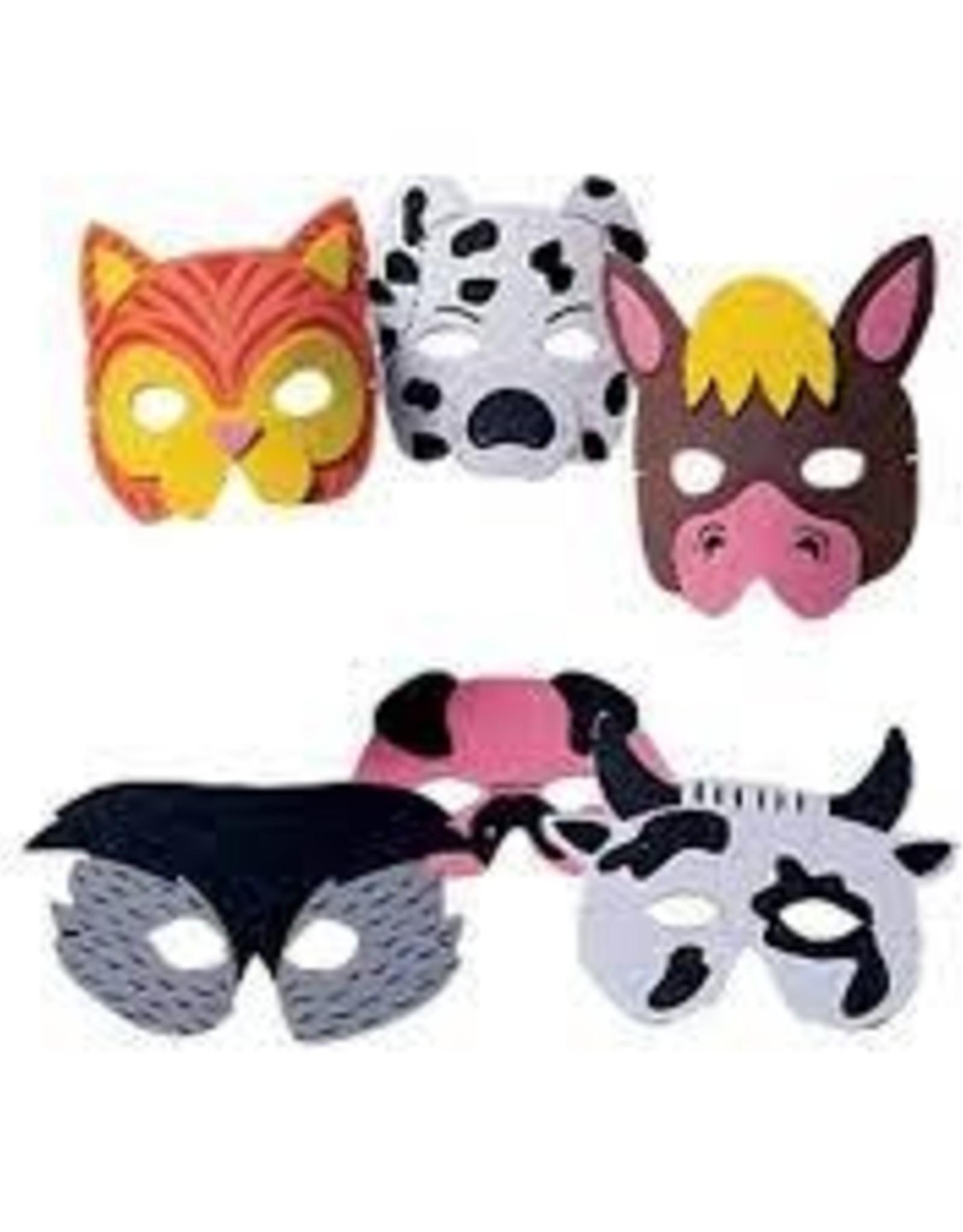Farm Animal Foam Masks