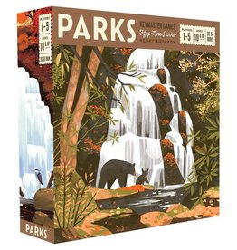 Keymaster Games Parks Board Game