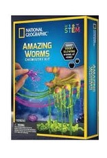 National Geographic Amazing Worms Chemistry Set